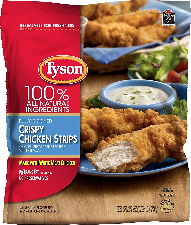 Tyson Chicken Tenders  honey chicken tenders tyson