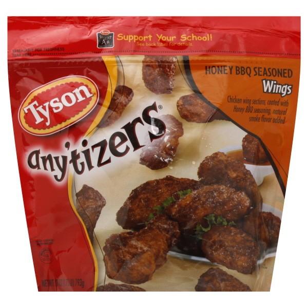 Tyson Chicken Wings  Tyson Any tizers Chicken Wings Honey BBQ Seasoned Fully