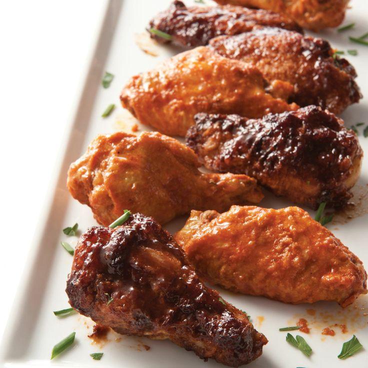 Tyson Chicken Wings  Tyson Chicken Wings in Buffalo Hot Honey BBQ and Tequila