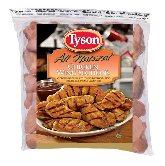 Tyson Chicken Wings  Tyson Individually Frozen 1st and 2nd Joint Wings are 100