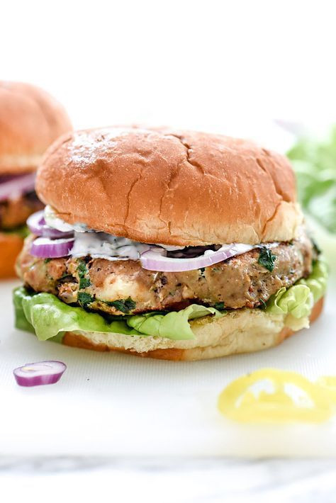 Tzatziki Sauce Kroger  213 best Burgers images on Pinterest