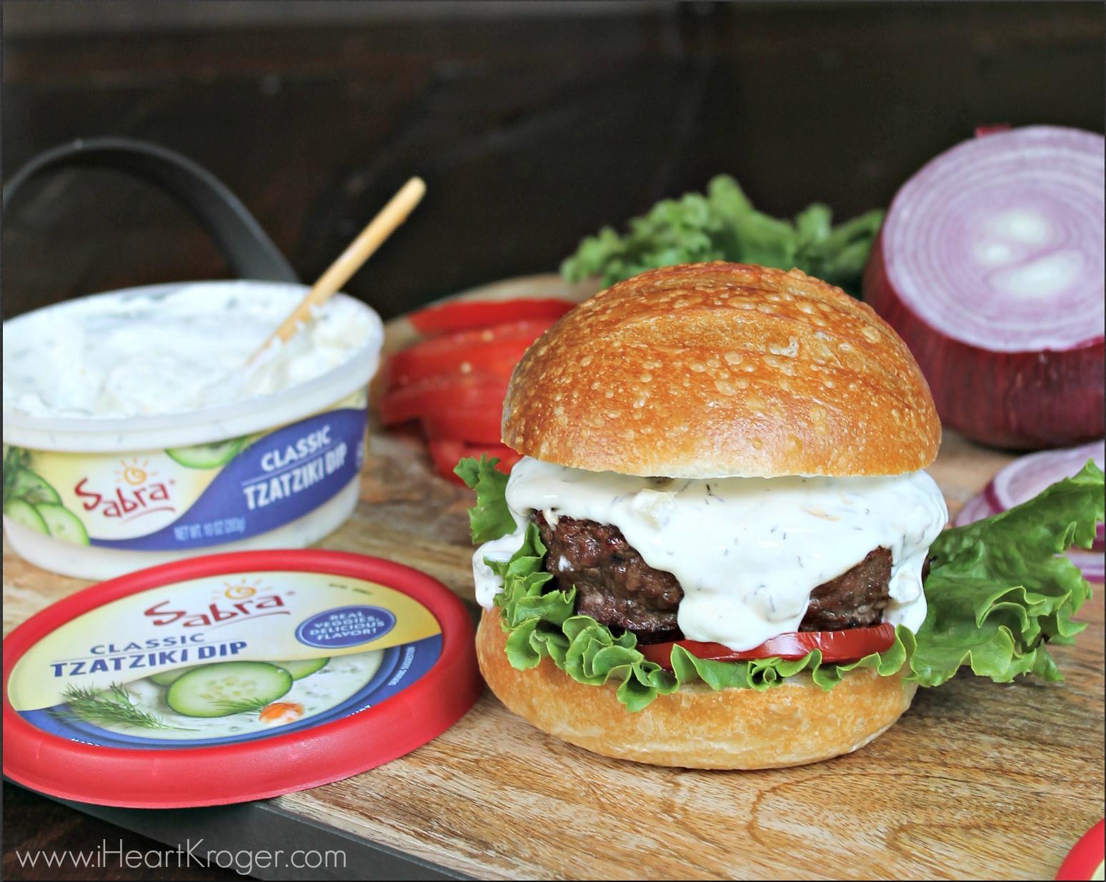Tzatziki Sauce Kroger  Feta Stuffed Burgers With Tzatziki Perfect Recipe To Go