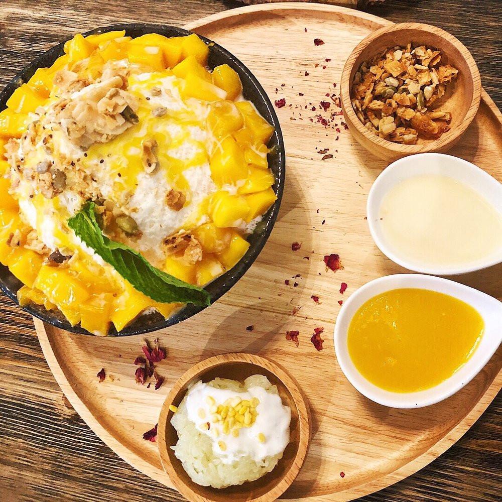 U Dessert Story  Mango Sticky Rice Bingsu $13 Yelp