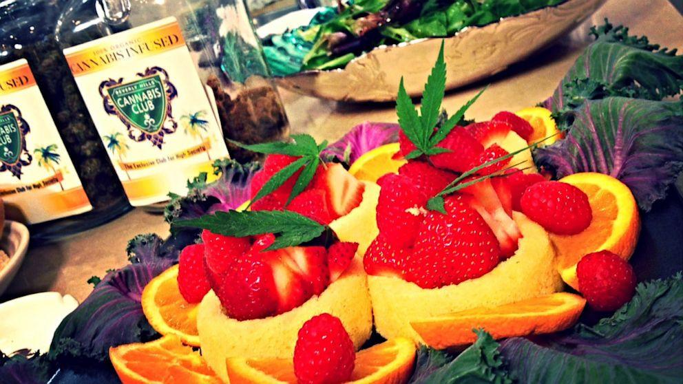 U Dessert Story  Pot Luck Inside a Beverly Hills Cannabis Club Dinner