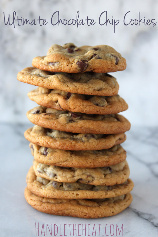 Ultimate Chocolate Chip Cookies  Ultimate Chocolate Chip Cookies Handle the Heat