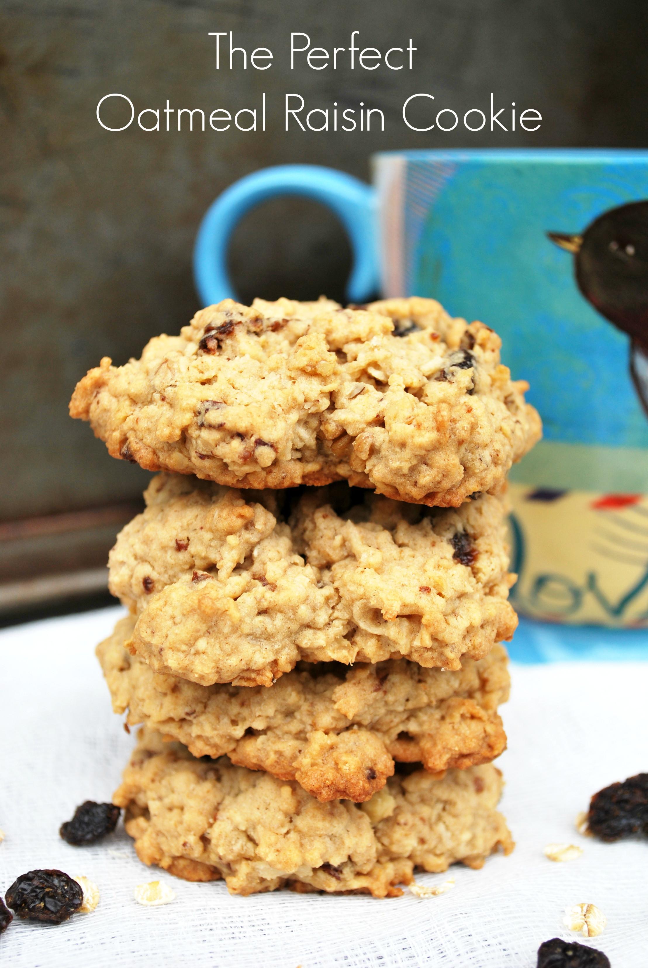 Ultimate Oatmeal Raisin Cookies  Strawberry Pie artzycreations