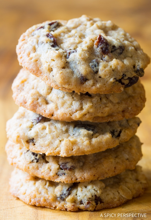 Ultimate Oatmeal Raisin Cookies  The Best Oatmeal Raisin Cookies A Spicy Perspective