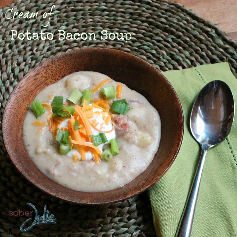 Ultimate Potato Soup  The Ultimate Potato Soup Recipe Sober Julie