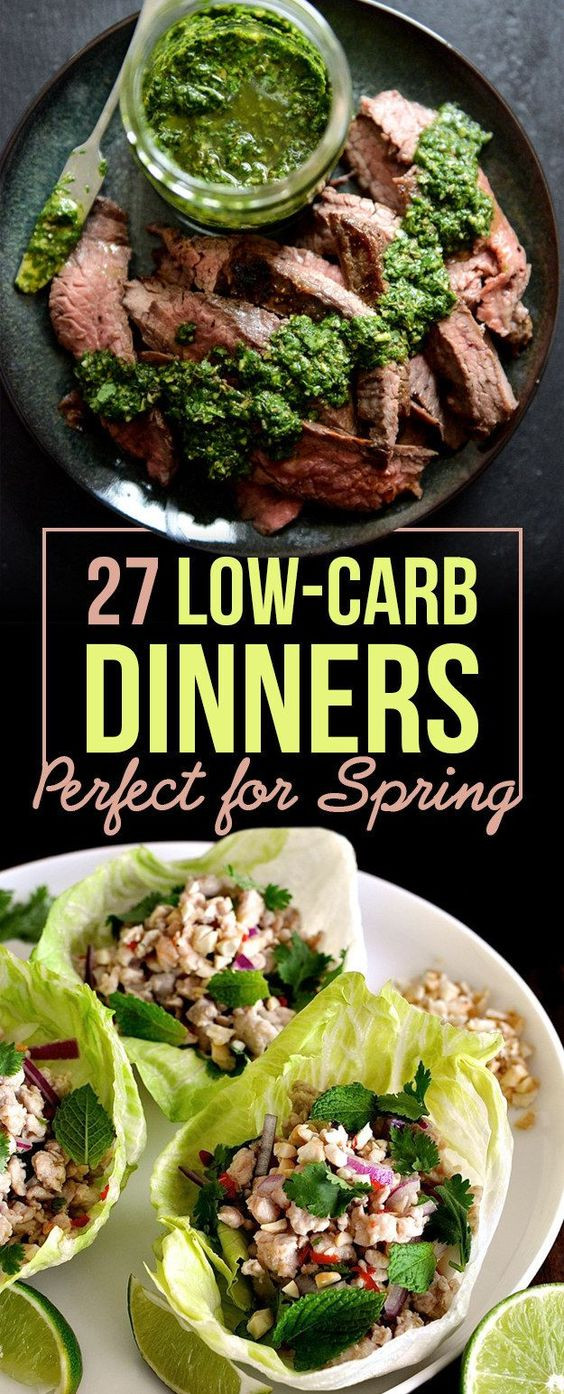 Unique Dinner Ideas  27 Low Carb Dinners That Are Great For Spring