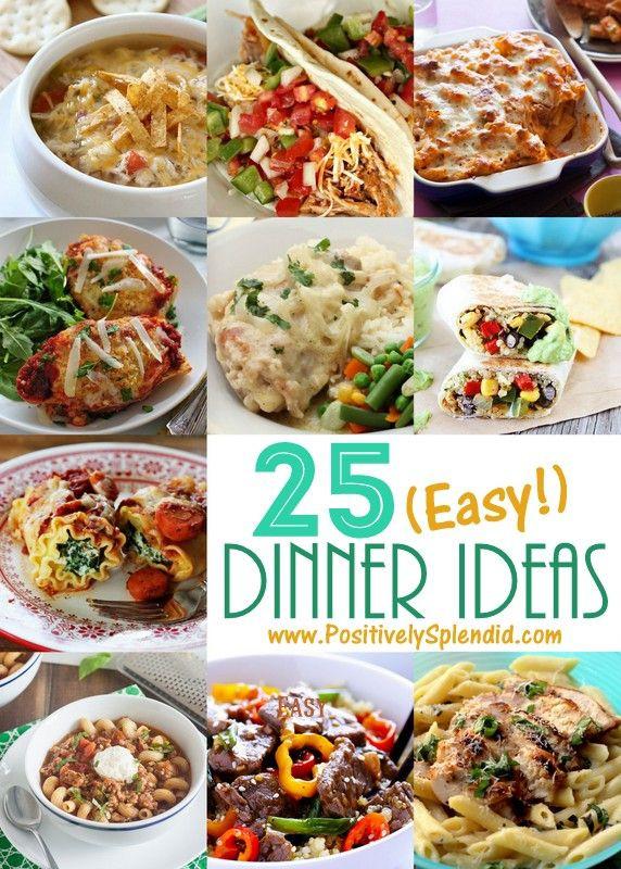 Unique Dinner Ideas  Best 25 family ideas on Pinterest