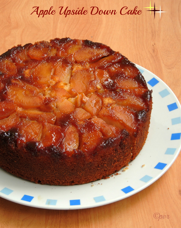Upside Down Apple Cake  Apple Upside Down Cake Recipe — Dishmaps