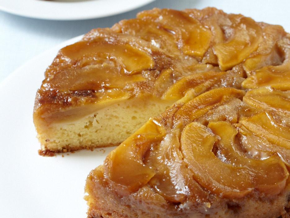 Upside Down Apple Cake  Apple Upside Down Cake Recipe Grace Parisi