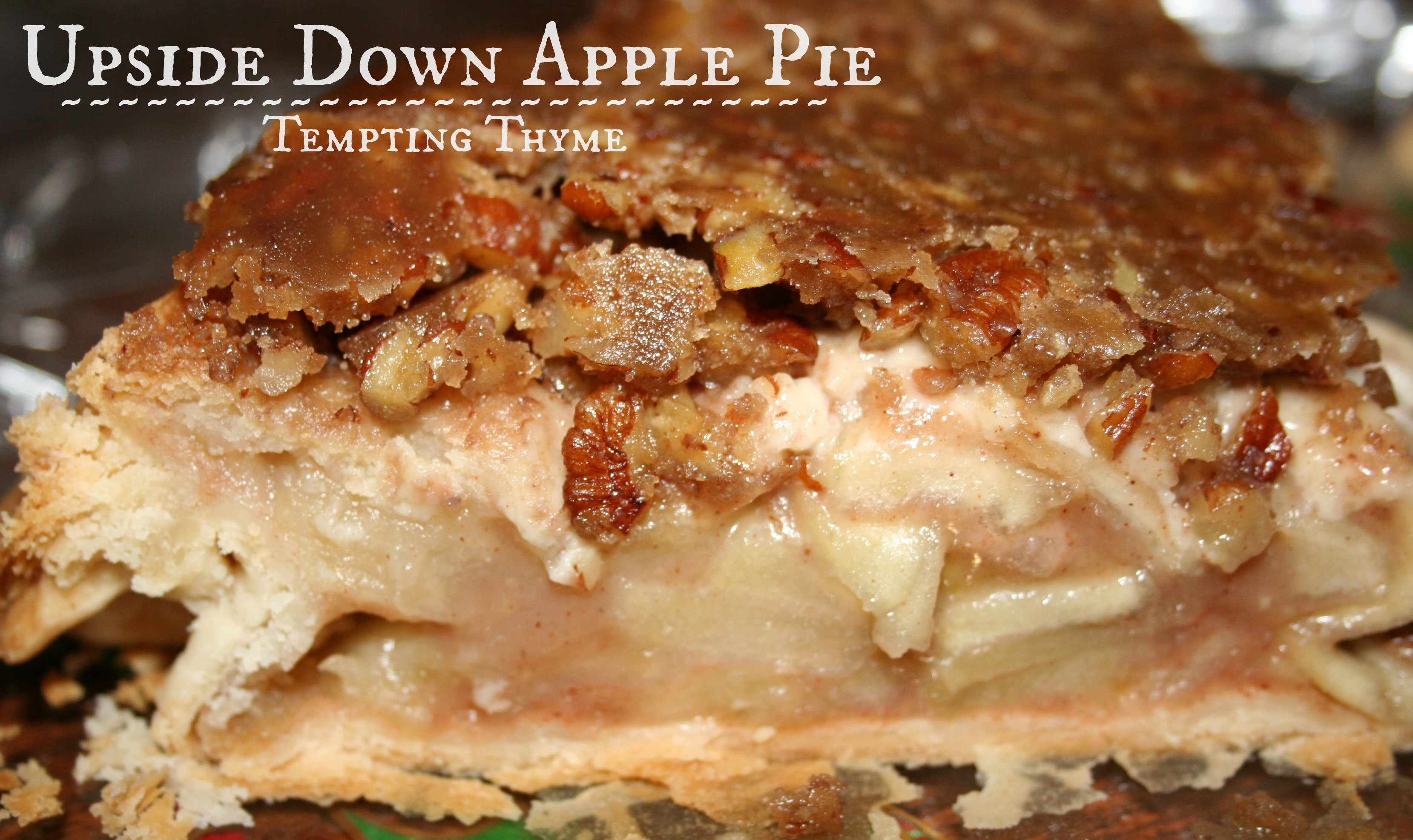 Upside Down Apple Pie  Upside Down Apple Pie Mr Food and another Birthday
