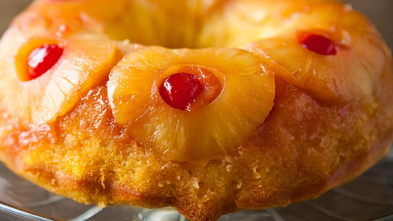 Upside Down Pineapple Bundt Cake  Pineapple Upside Down Bundt Cake Recipe BettyCrocker