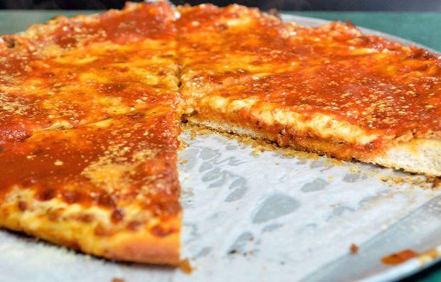Utica Tomato Pie  12 best food cities in Upstate New York ranked