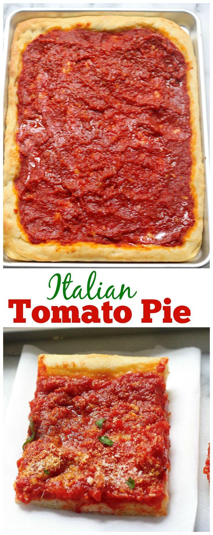 Utica Tomato Pie  Tomato Pie