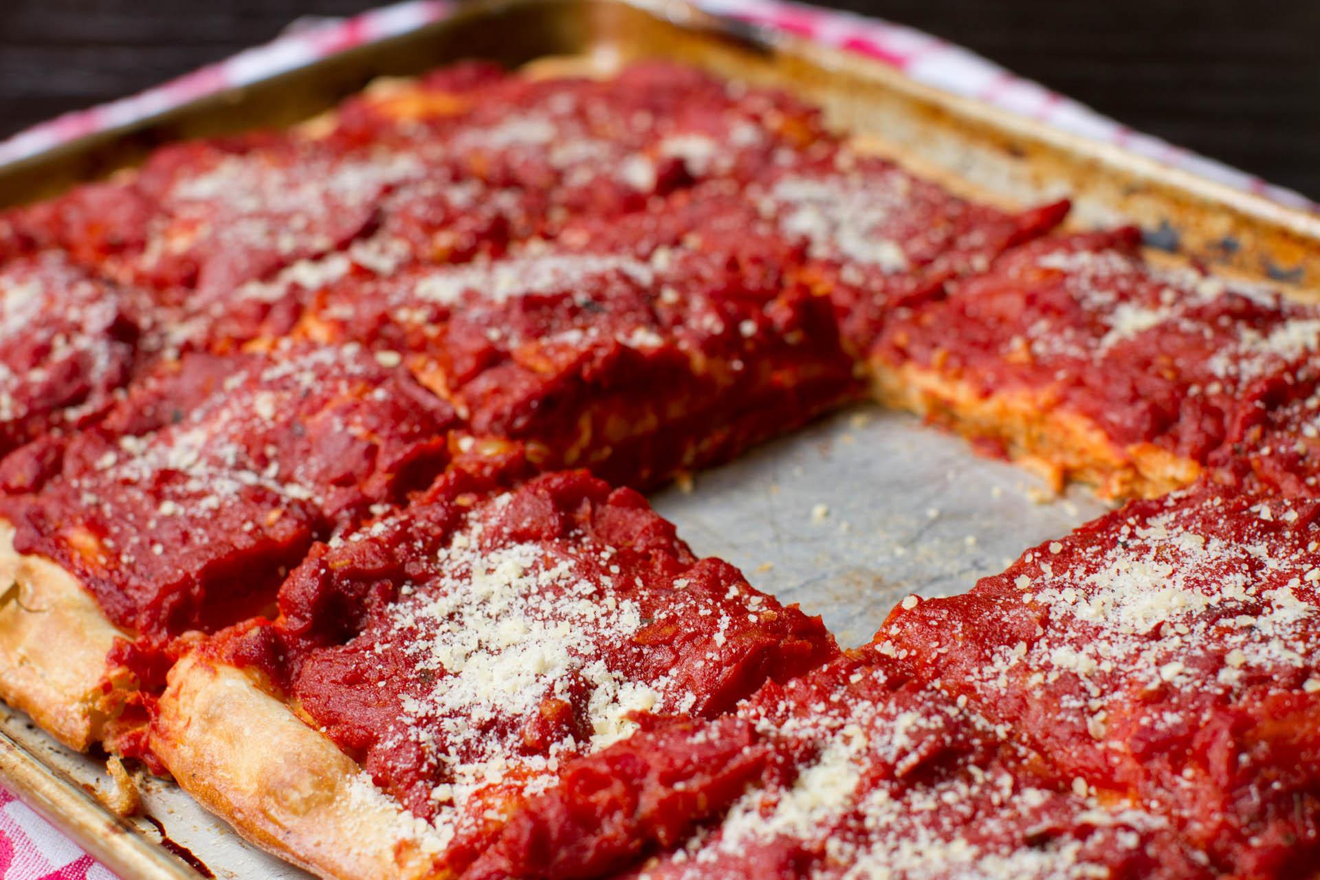 Utica Tomato Pie  Lick My Spoon