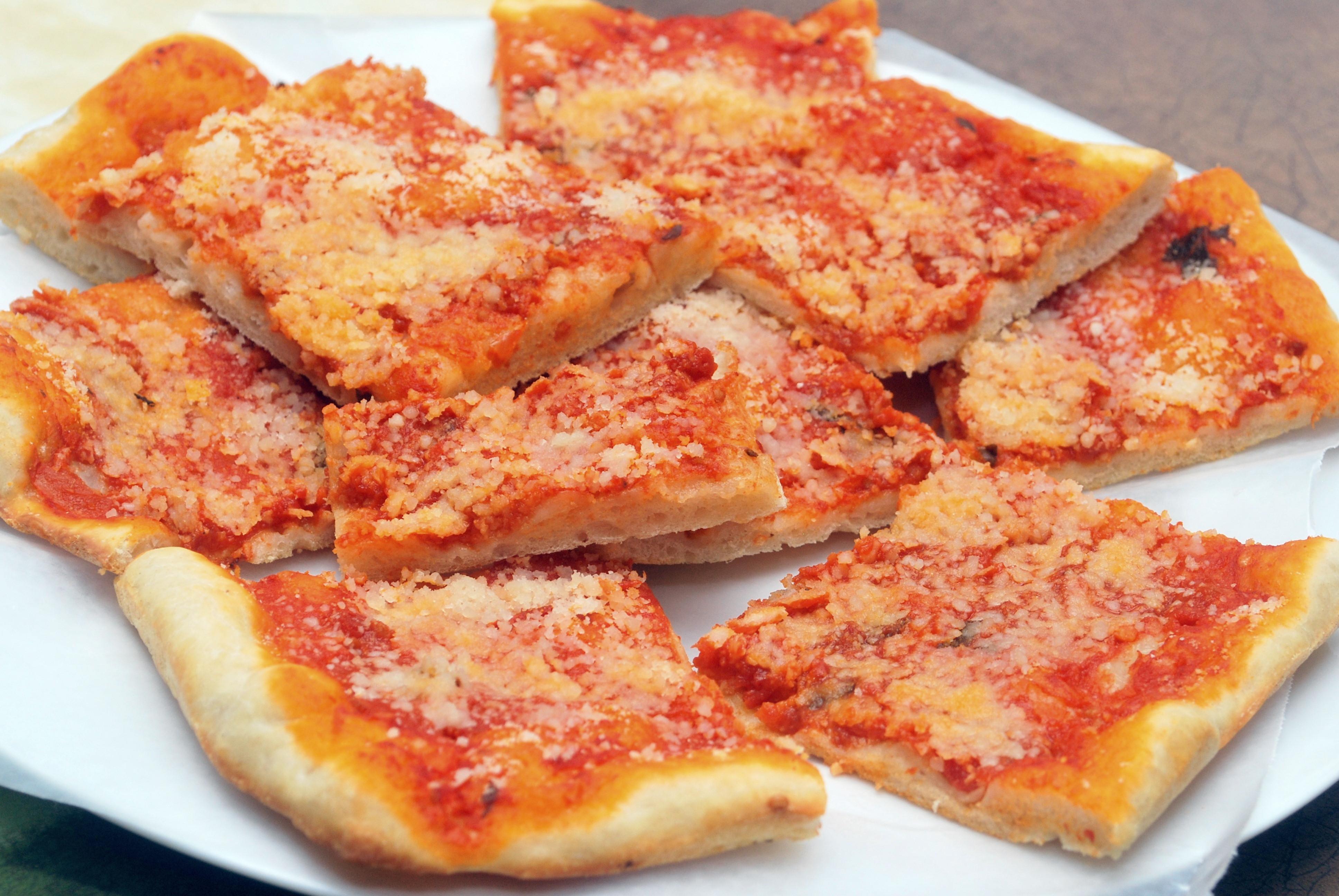 Utica Tomato Pie  CNYEats A Taste of Utica Tomato Pie