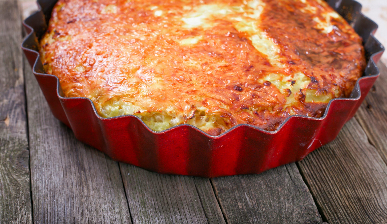 Vadalia Onion Pie  Vidalia ion Pie