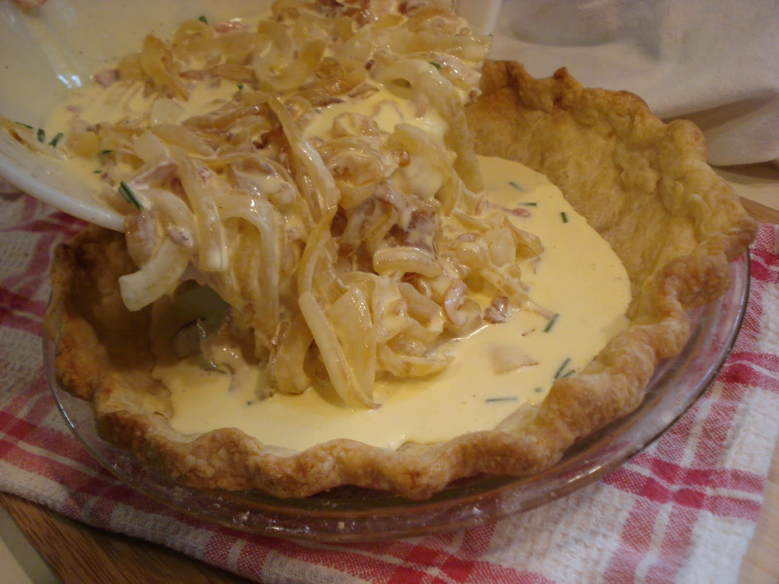 Vadalia Onion Pie  The Cookie Scoop Vidalia ion Pie