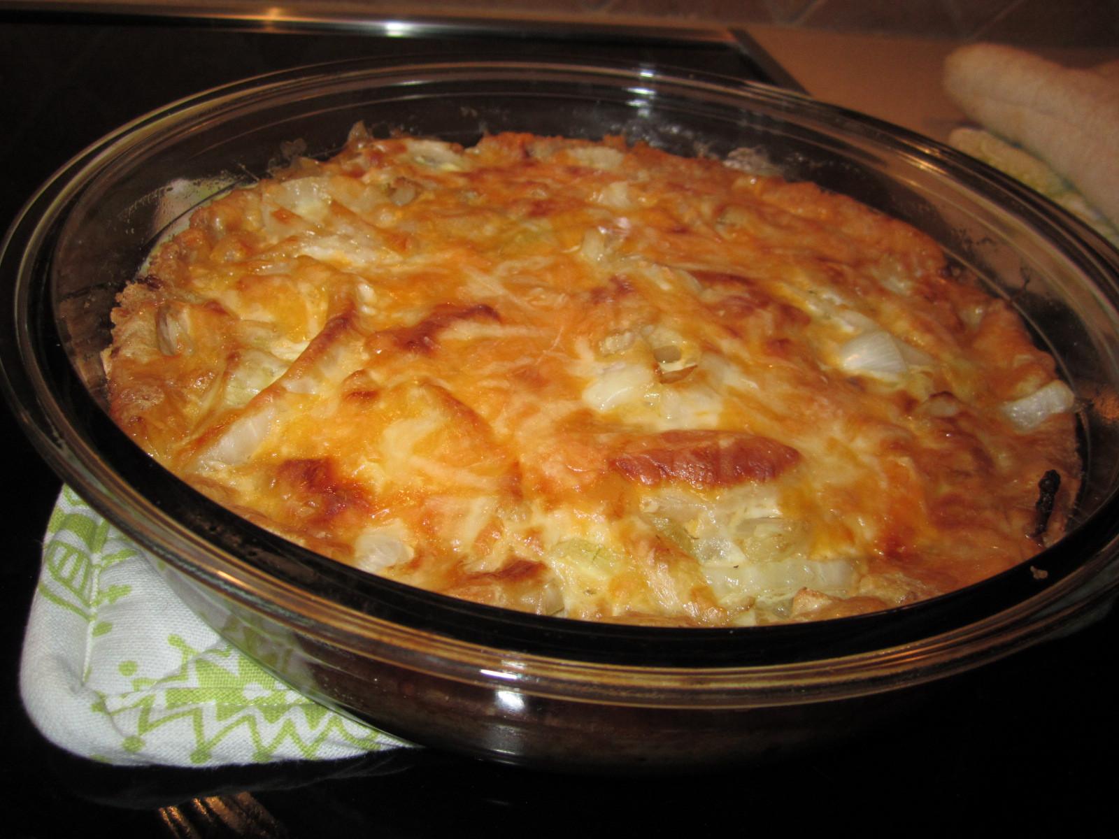 Vadalia Onion Pie  SMIDGE OF THIS Vidalia ion Pie Recipe