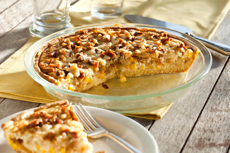 Vadalia Onion Pie  Vidalia ion Bacon Pie Recipe Relish