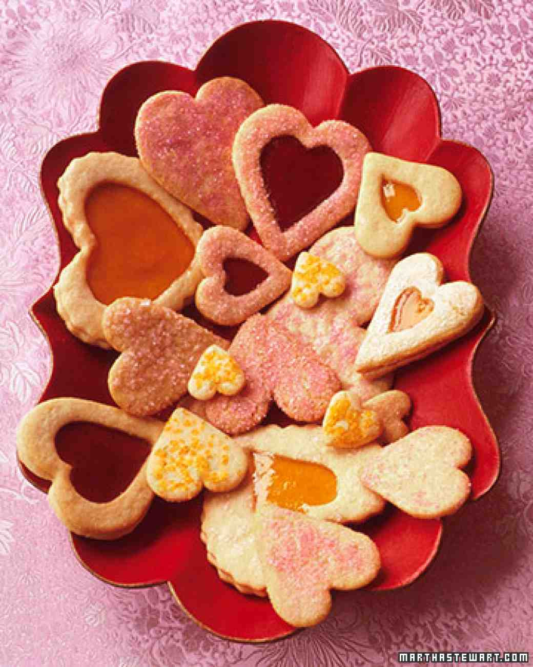 Valentine Day Cookies Recipe  Valentine Cookies Recipe