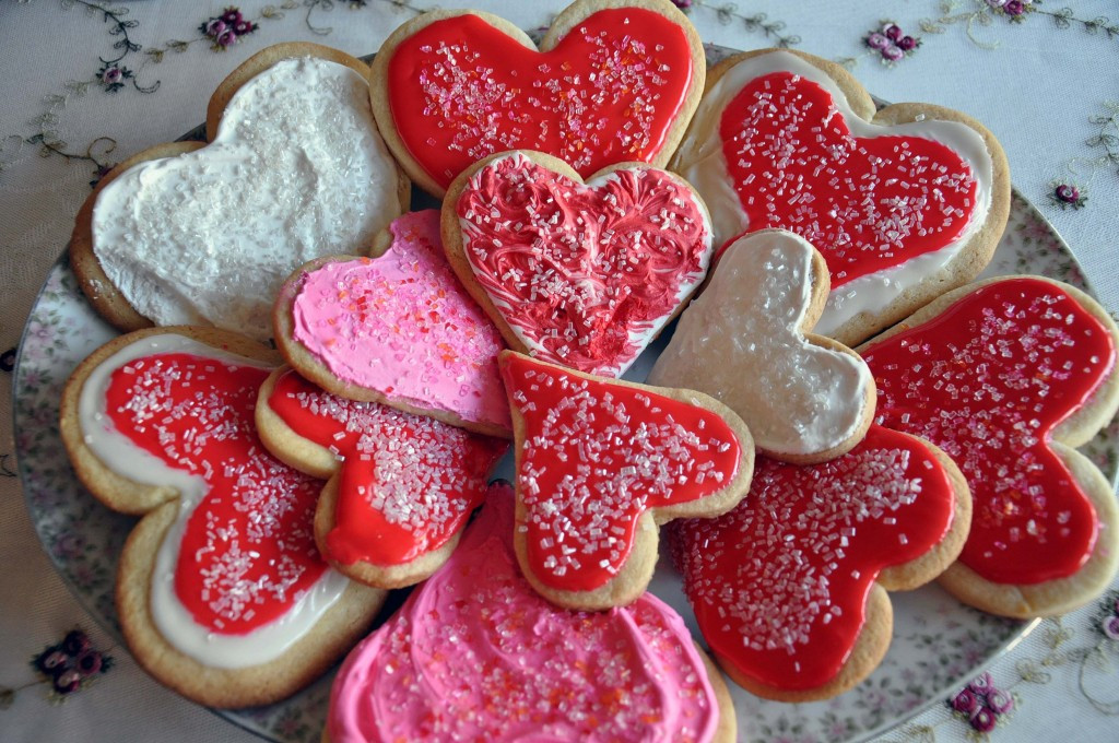 Valentine Day Cookies Recipe  Valentine Sweets All Things Heart and Home