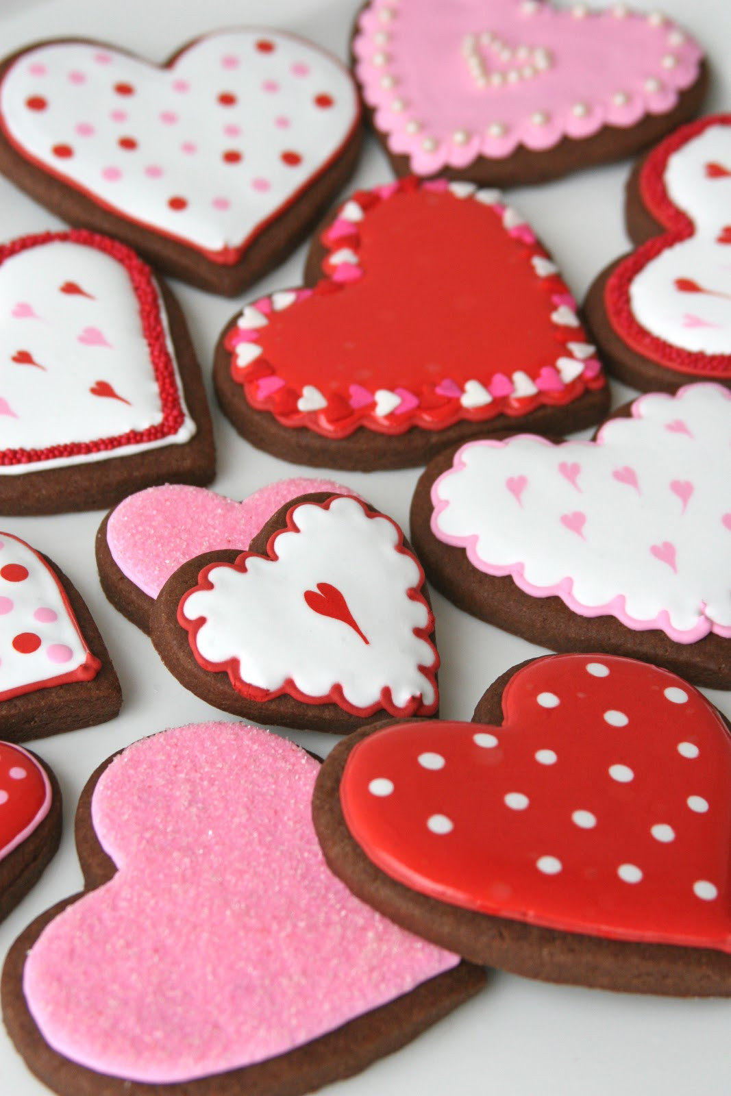 Valentine Day Cookies Recipe  Chocolate Rolled Cookies Recipe – Glorious Treats