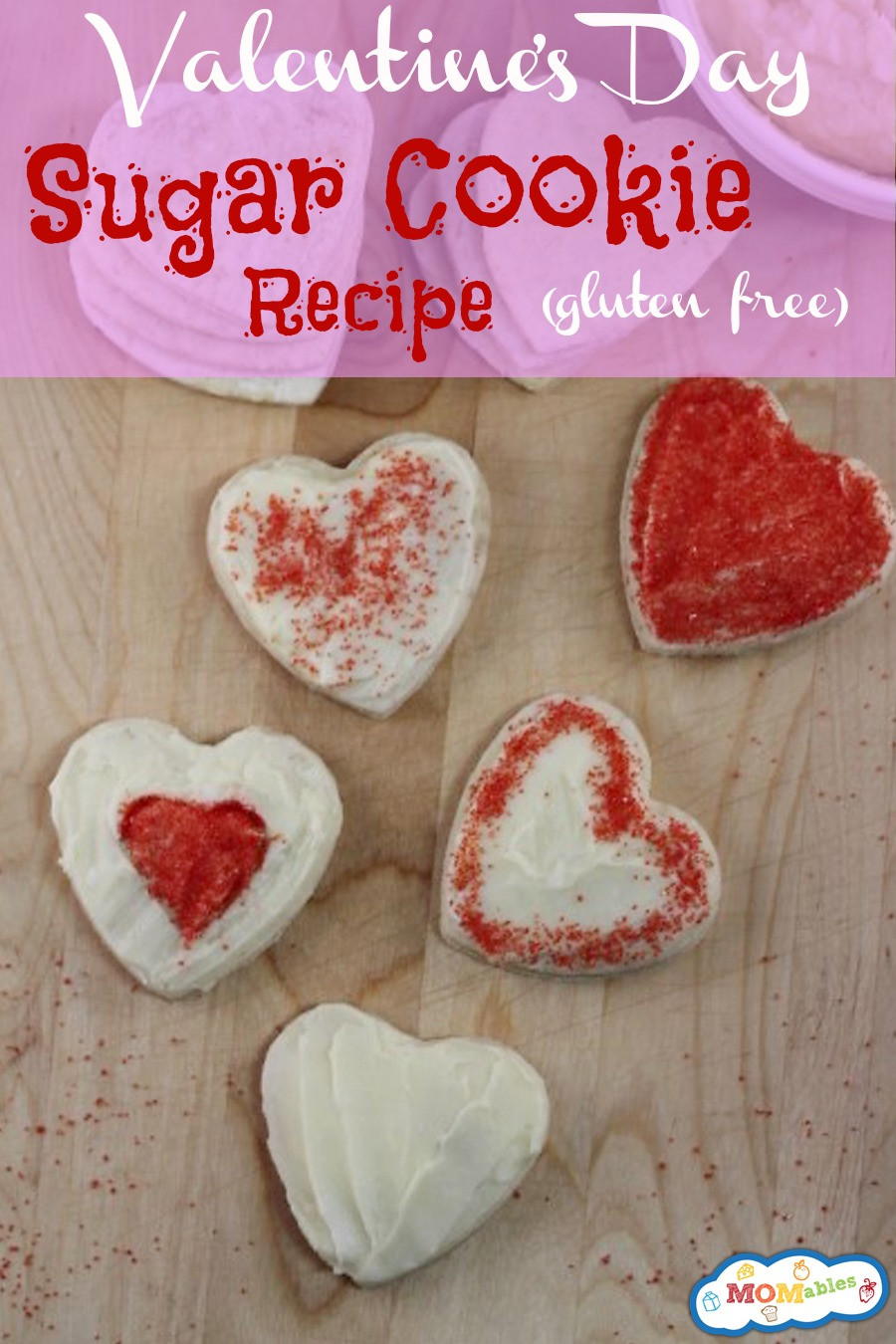 Valentine Day Cookies Recipe  Gluten Free Valentine s Day Sugar Cookies Recipe