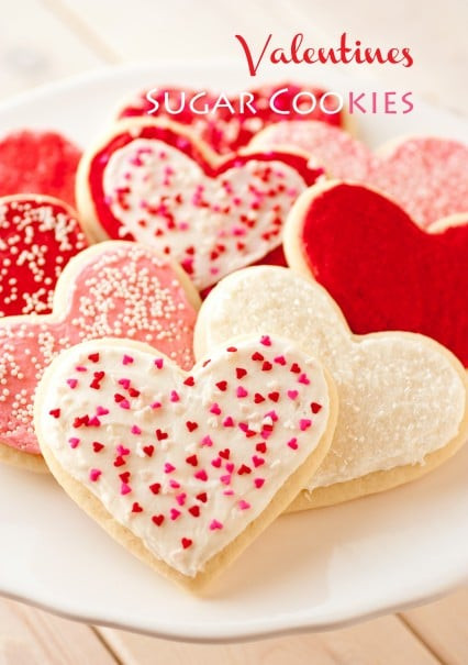 Valentine Day Cookies Recipe  Valentines Day Dessert Recipes