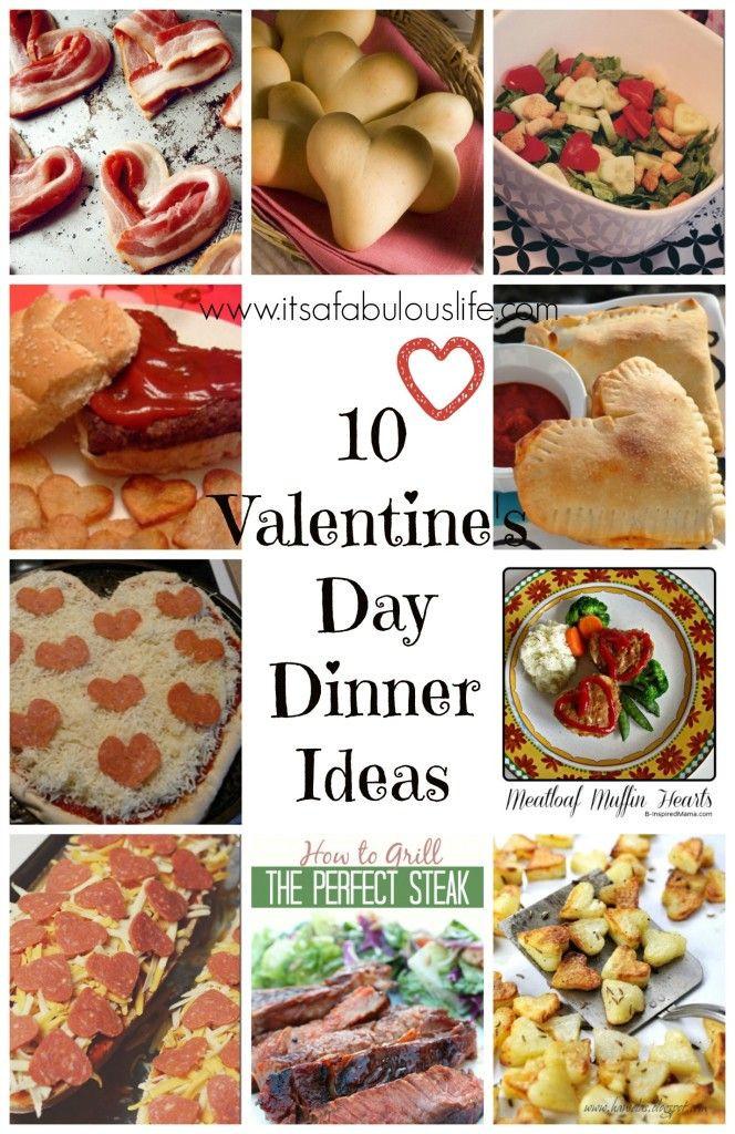 Valentine Dinner Ideas  10 Valentine's Day Dinner Ideas Lots of super fun ideas