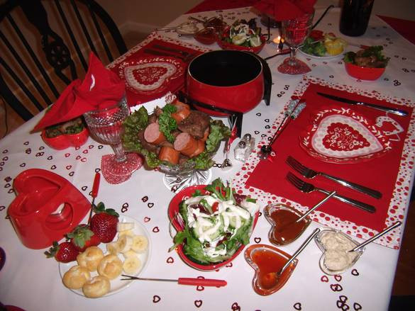 Valentine Dinner Ideas  valentines day dinner table Decoration idea 2016 Dinner