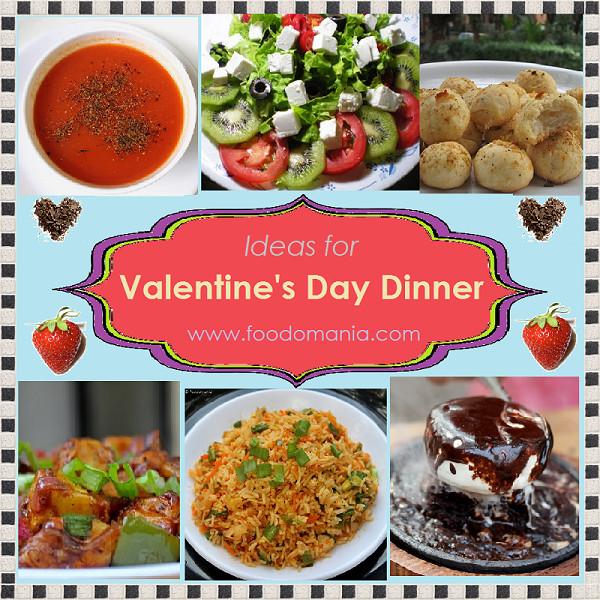 Valentine Dinner Ideas  Valentine s Day Dinner Ideas Recipe Roundup