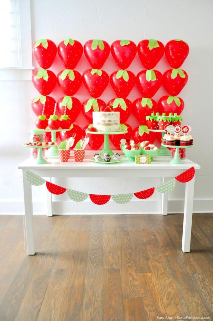 Valentine'S Day Dessert Ideas  Kara s Party Ideas Berry Sweet Strawberry Valentine s Day