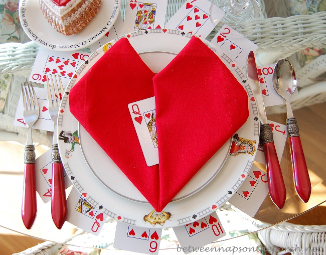 Valentine'S Day Dinner  Valentine 039 s Day Table Setting Tablescape With A Heart