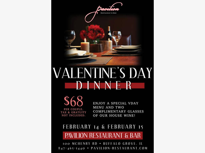 Valentine'S Day Dinner Specials  Valentine s Day Dinner Special For Two