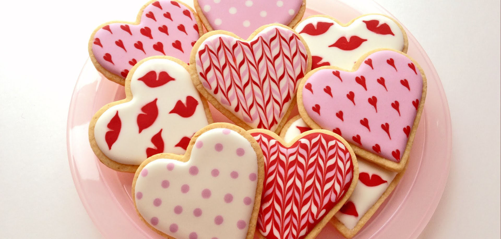 Valentines Day Cookies  Adorable Valentines Day Cookie Decorations WOW
