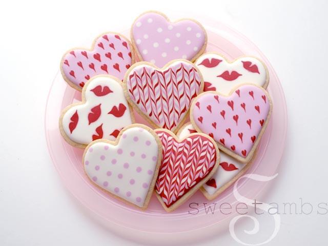 Valentines Day Cookies  Simple Valentine s Day CookiesSweetAmbs