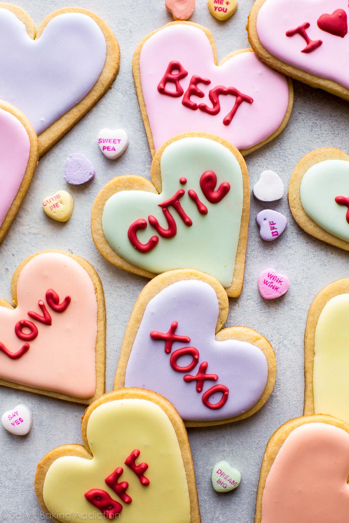 Valentines Day Cookies  Valentine's Day Heart Sugar Cookies – Cravings Happen