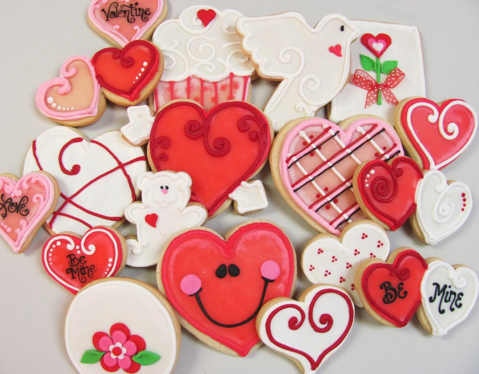 Valentines Day Cookies  Valentine's Day Cookies