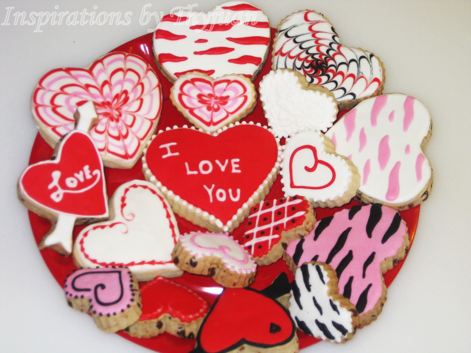 Valentines Day Cookies  Inspirations by Thyjuan LLC Valentine s Day Cookies