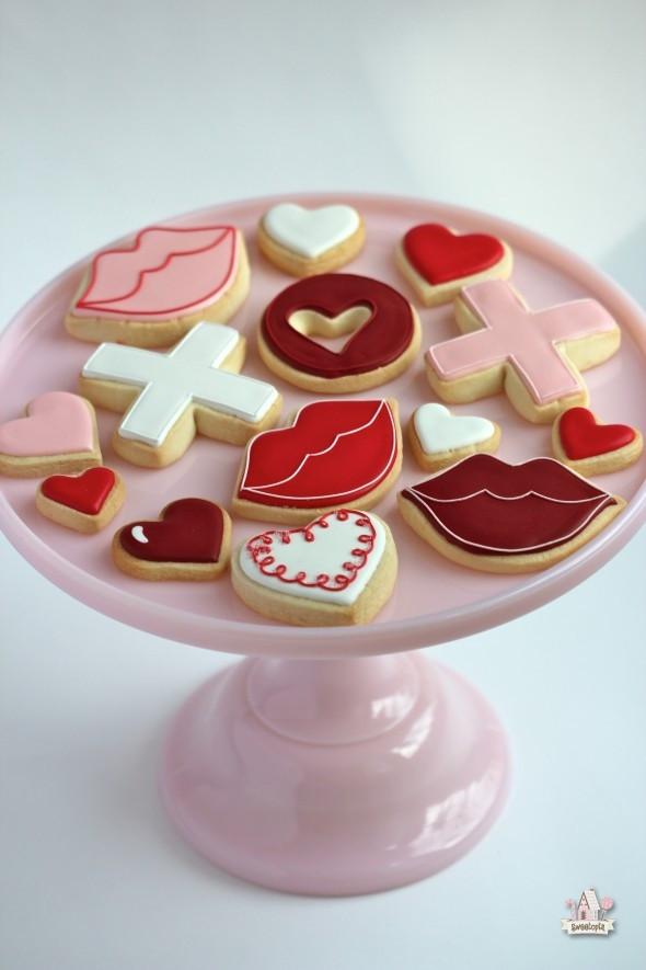 Valentines Day Cookies  Valentine's Day Cookie & Cupcake Ideas