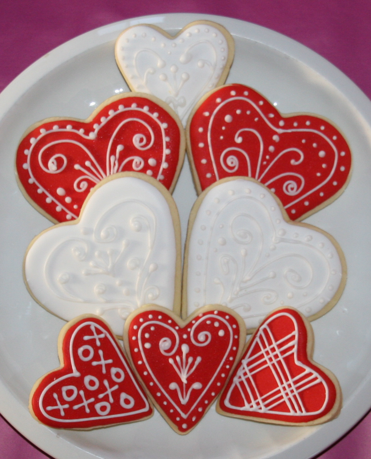 Valentines Day Cookies  Happy Valentine's Day Cookies Tutorial – cakes