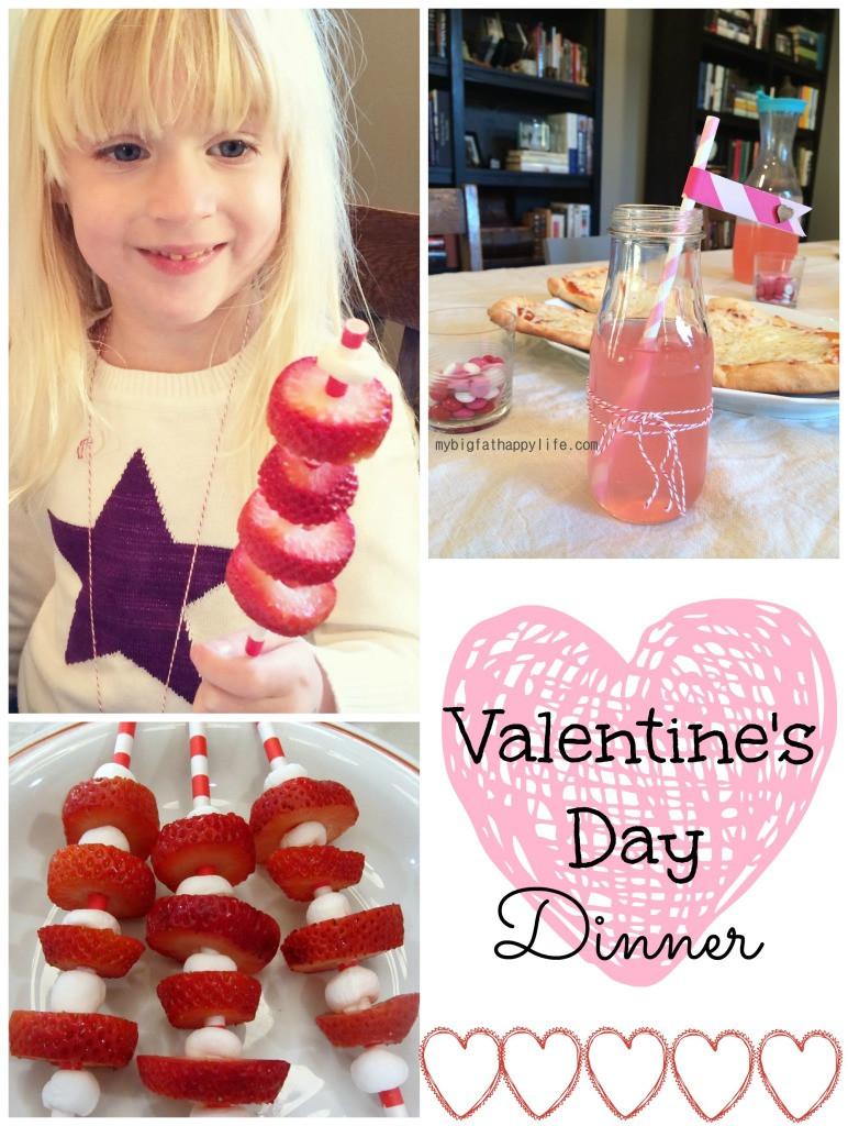 Valentines Day Dinner  Valentine s Day Dinner My Big Fat Happy Life