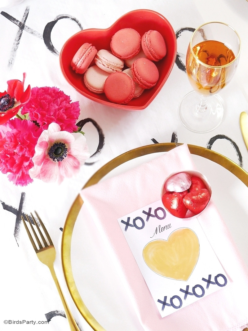 Valentines Day Dinner  A Modern Valentine s Day Dinner Party Party Ideas