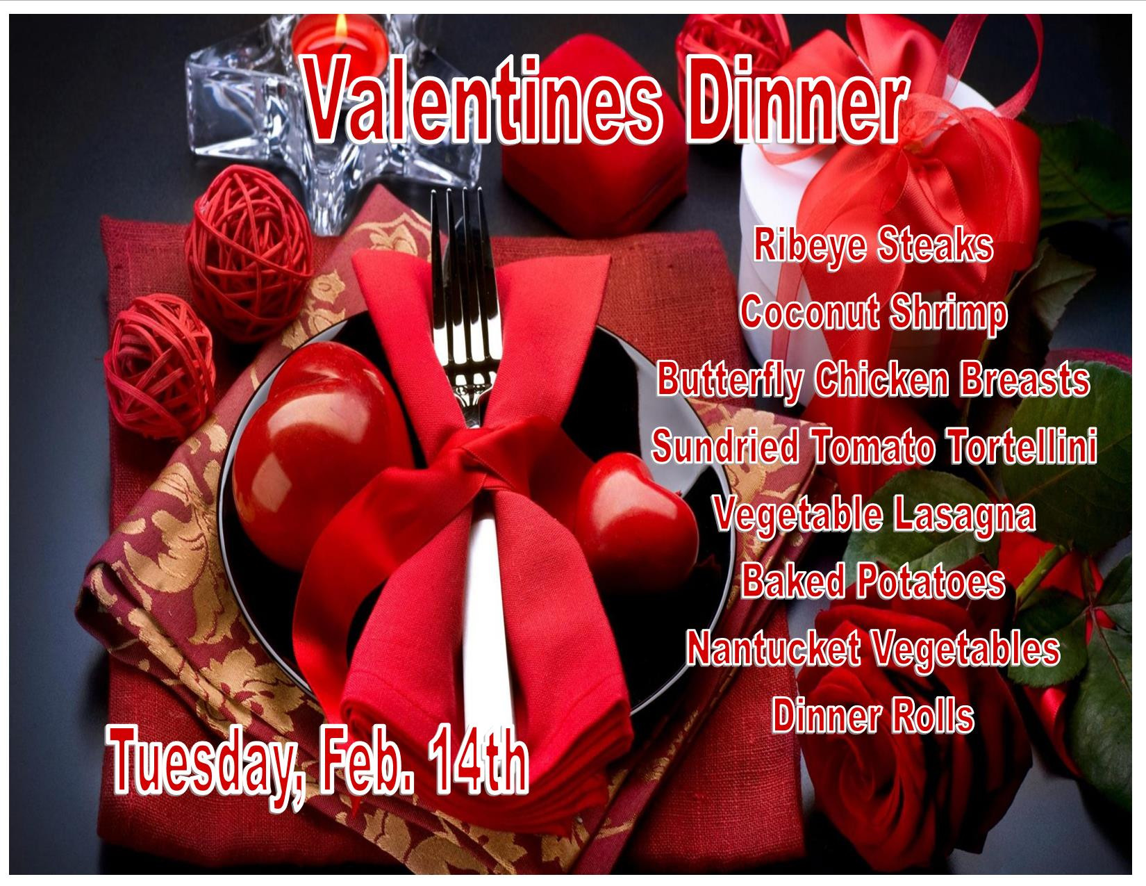 Valentines Dinner 2017  Valentine s Day Dinner Bromley Hall