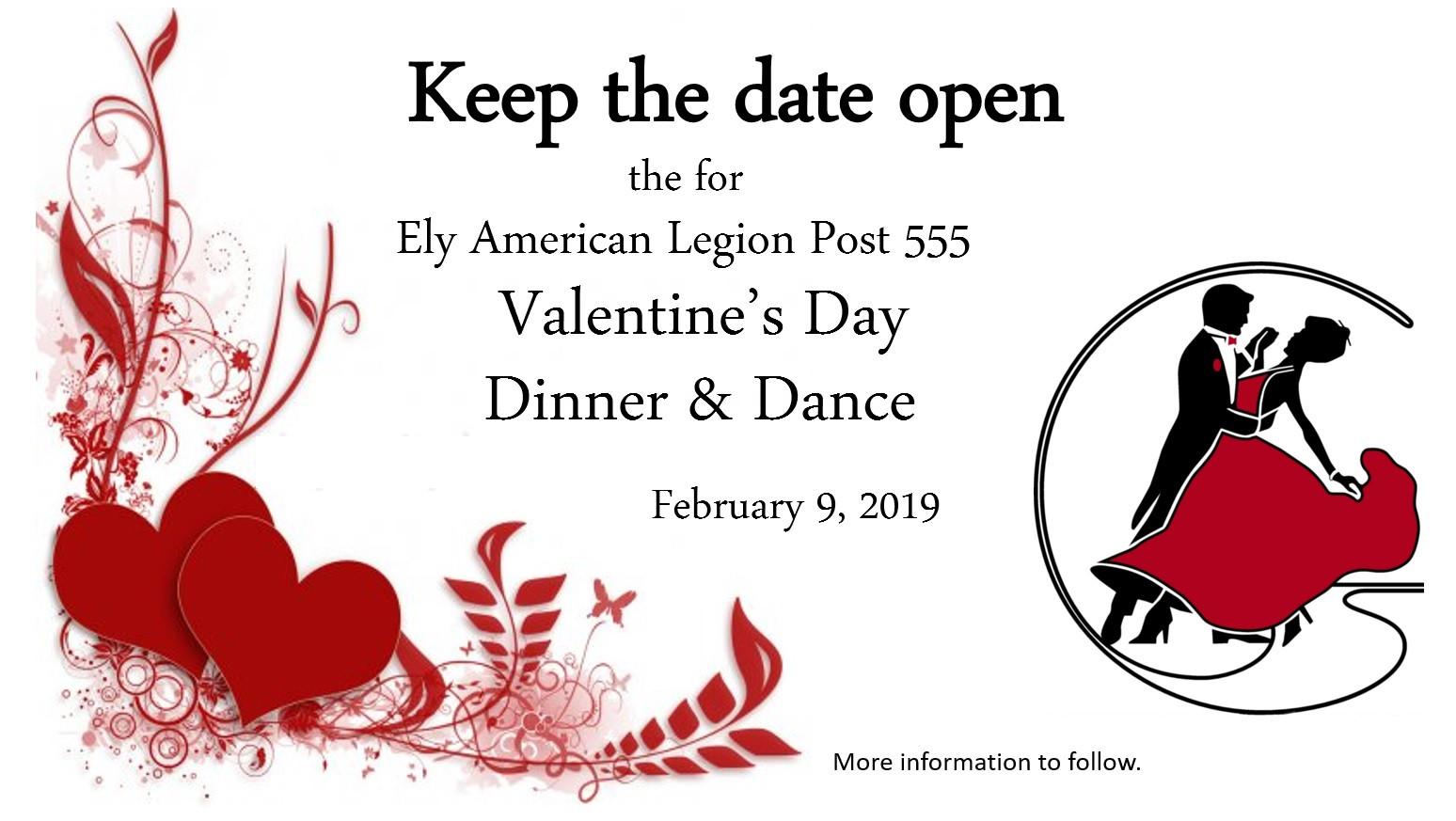Valentines Dinner 2020  Valentines Day Dinner and Dance