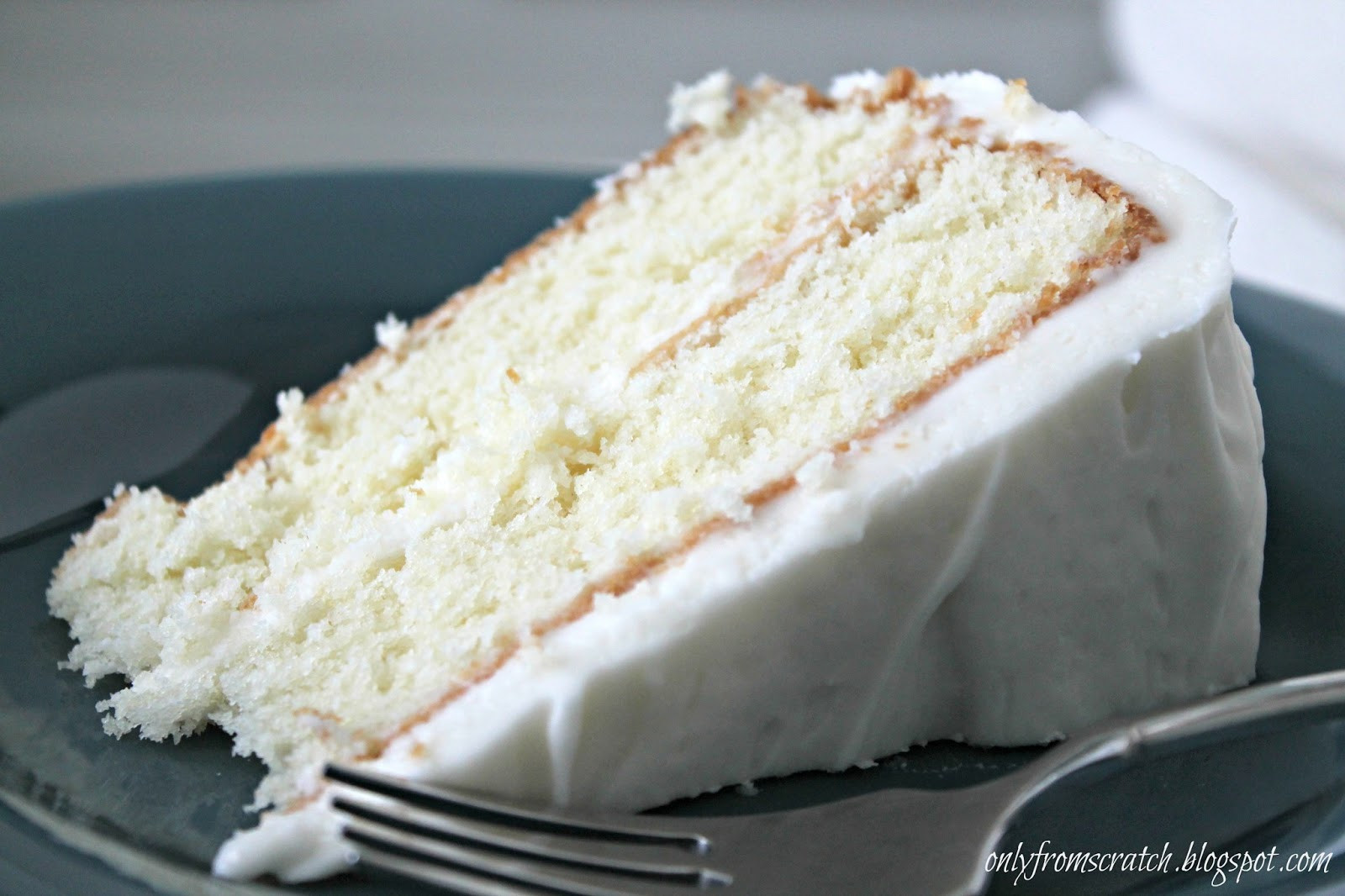 Vanilla Cake Recipe  ly From Scratch Simple Layer Cake with Vanilla Frosting