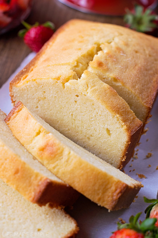 Vanilla Pound Cake Recipe  Vanilla Bean Pound Cake Life Made Simple